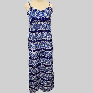 kate spade Madlyn Patio Dress Lychee Royal Multi
